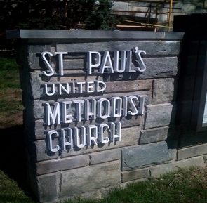 Sign of St. Paul's United Methodist Church