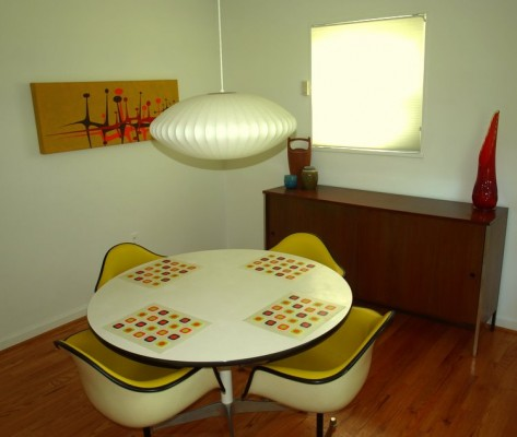 Modern Capital's dining room
