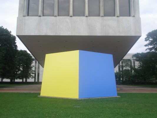 Ellsworth Kelly piece - Empire State Plaza