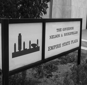 Empire State Plaza sign