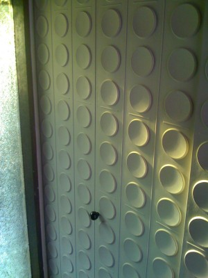 Raised Pattern closet door