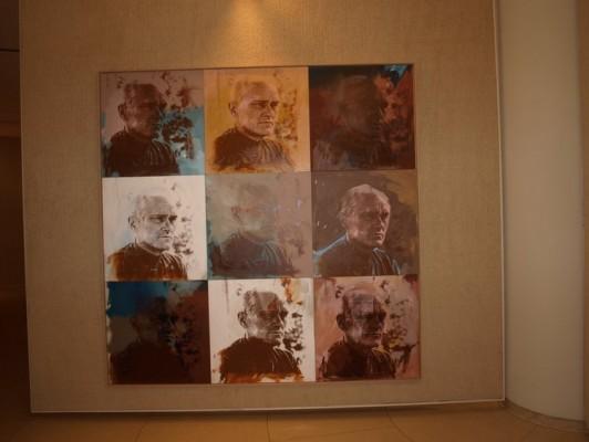 Andy Warhol of Philip Johnson