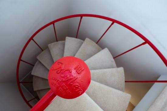 Esten House Spiral Stairs