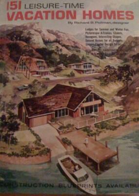 Vintage vacation home book