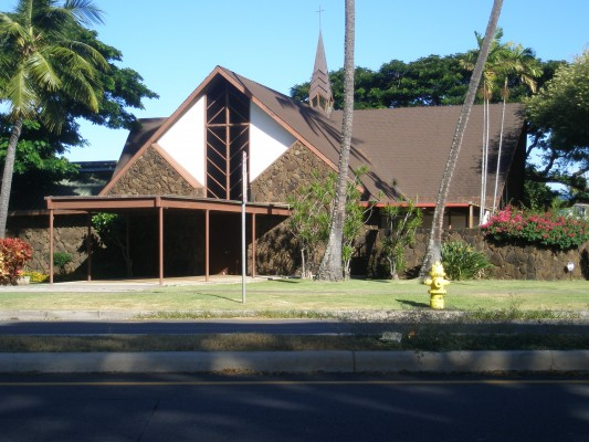 Church in Kahala.