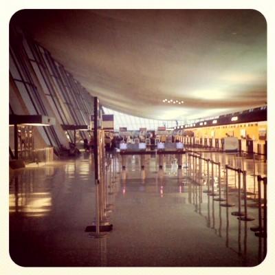 Saarinen's Dulles Airport