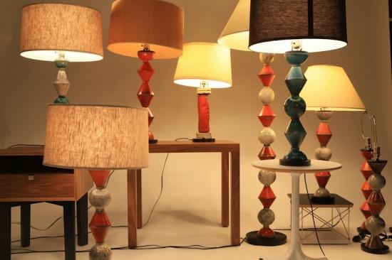 Daniel Donnelly Ceramic Lamps