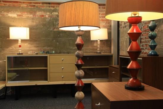 Daniel Donnelly ceramic lamp