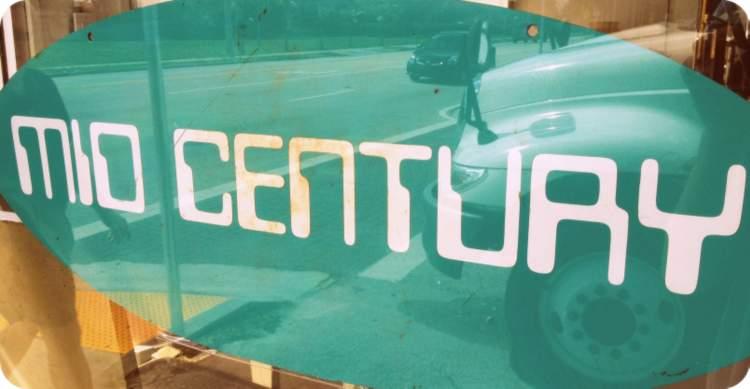 Mid-century sign