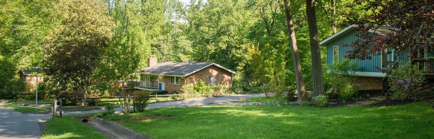 Carderock Springs Mid-Century Modern Homes