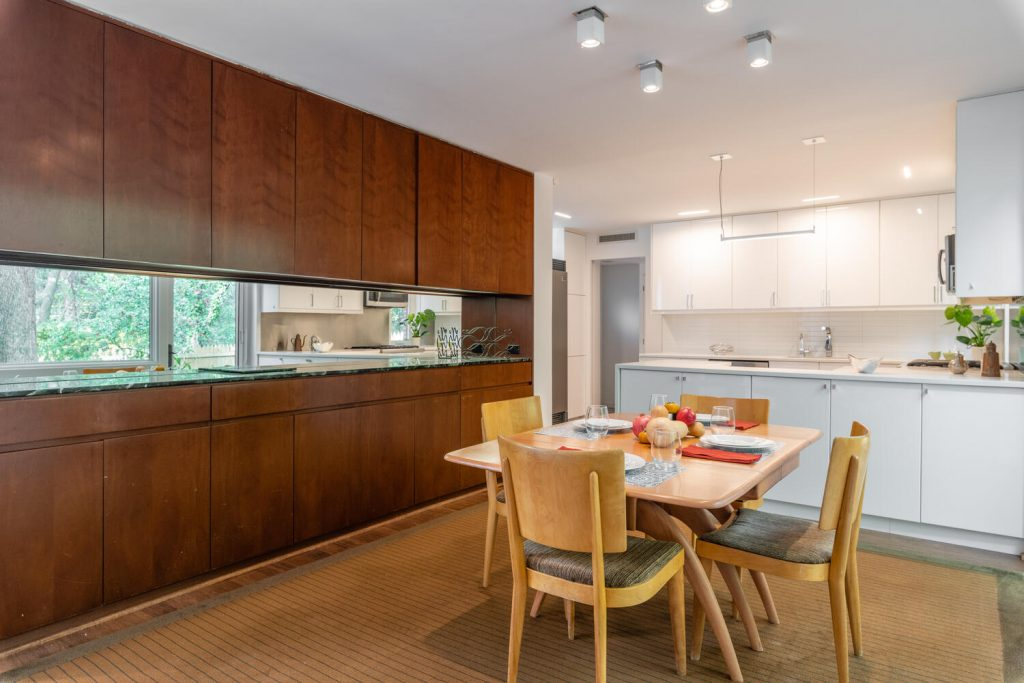 Custom home in Chevy Chase by renowned female modernist architect Chloethiel Woodard Smith.